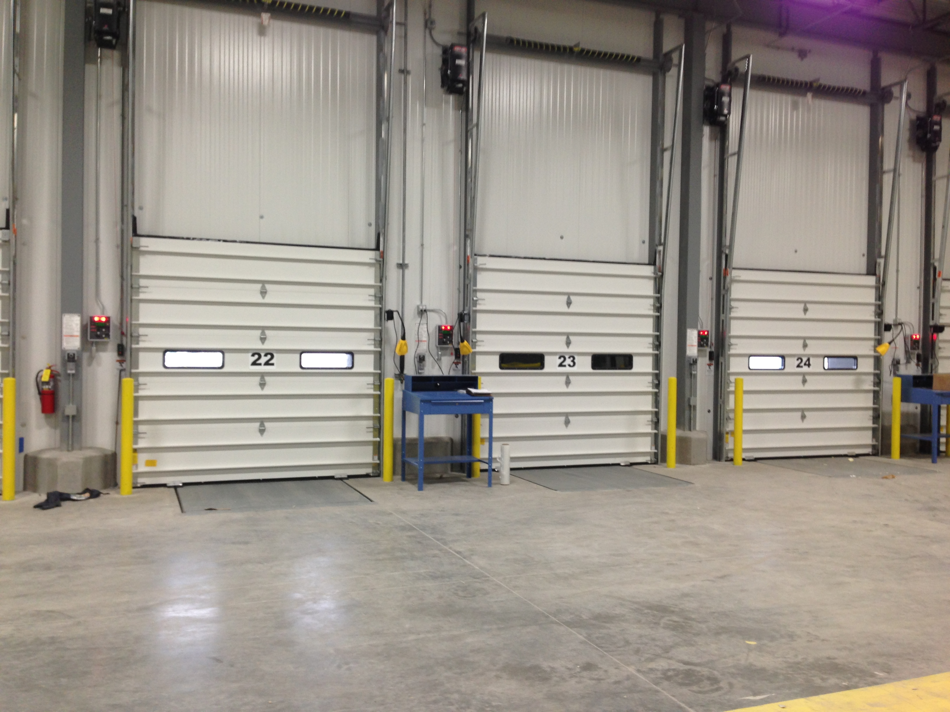 Insulated sectional overhead door w e carlson corporation