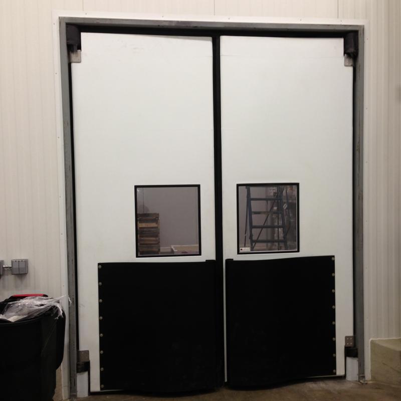 Double Acting Two-Way Traffic Swing Door