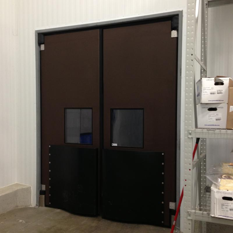Double Acting Traffic Door W E Carlson Corporation