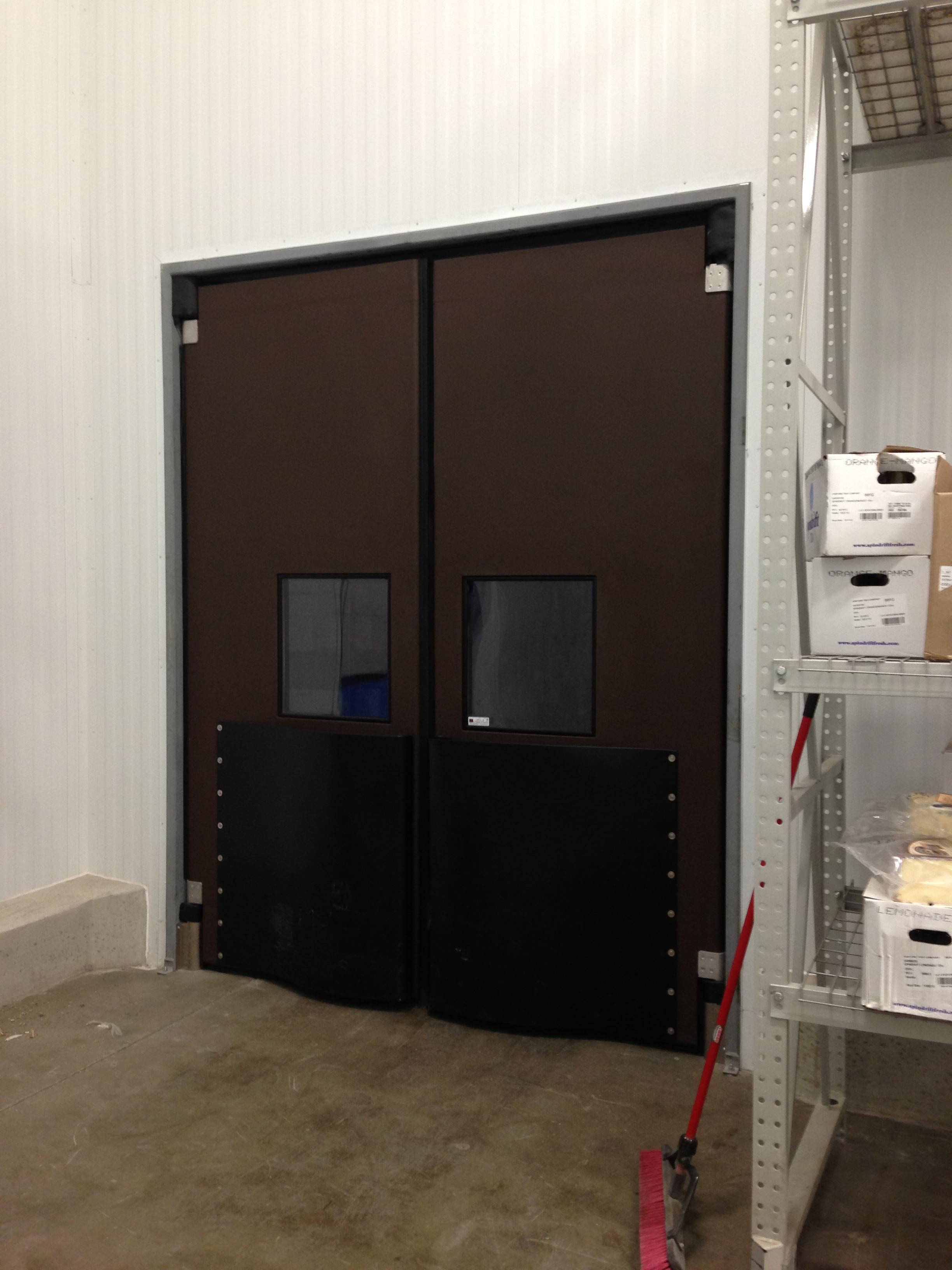 Double Action Door : Double acting traffic door w e carlson corporation