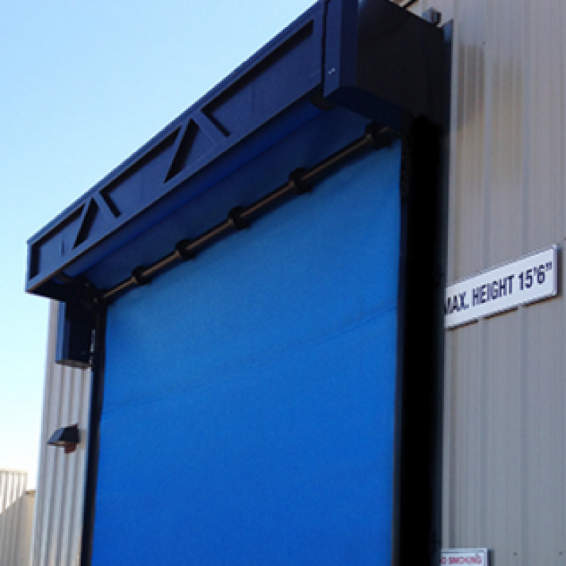 Upper half of the FasTrax XL Door