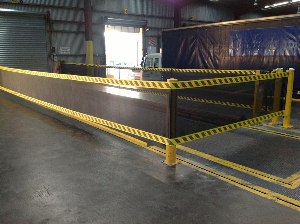 Spanguard Strap Barrier System W E Carlson Corporation
