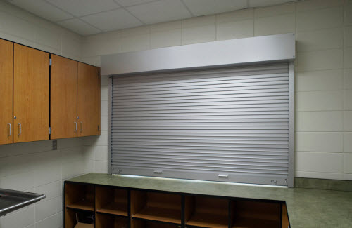 Rolling Counter Shutter W E Carlson Corporation
