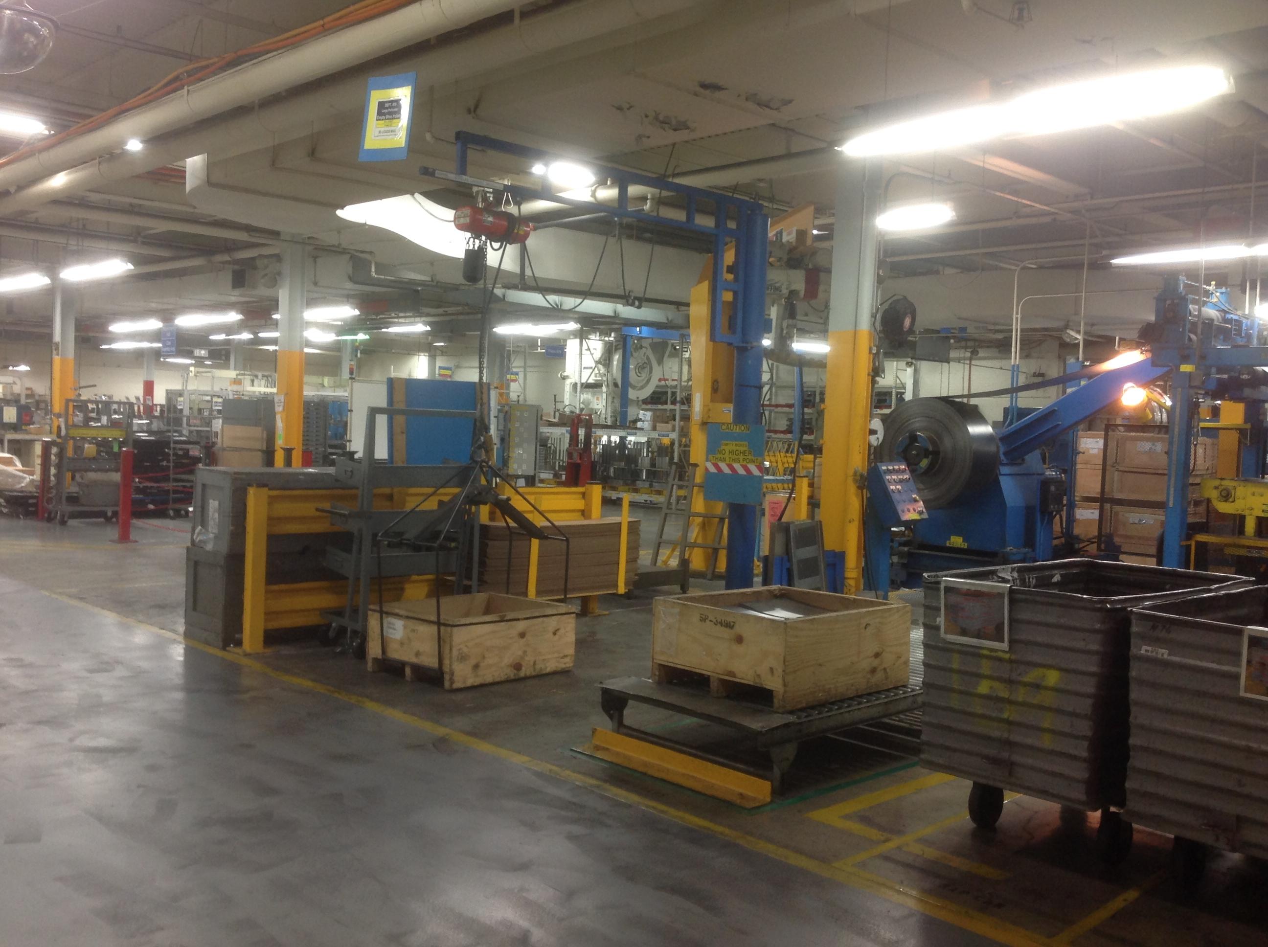 Work Station Jib Cranes W E Carlson Corporation