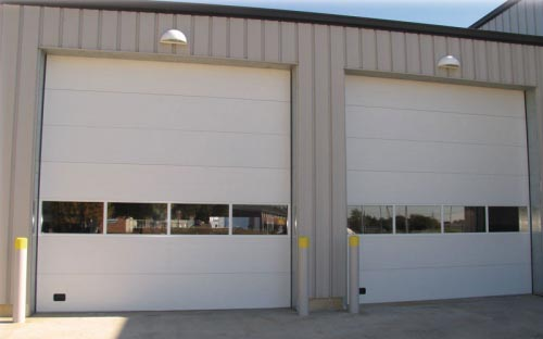 Insulated Sectional Overhead Door W E Carlson Corporation