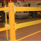 Yellow GuardRite Strap protects machinery in the loading dock
