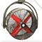 Swivel head of CoolMan HVHS four-blade fan