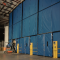 Loading Dock Enclosure with dock openings