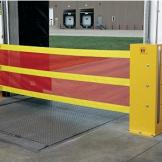 Heavy-duty Dok-Guardian guarding a vacant loading dock