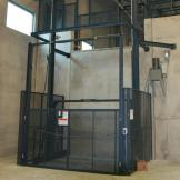Hydraulic Freight Lift on ground floor