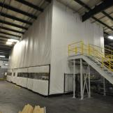 Floor to ceiling Insulated Curtain Walls