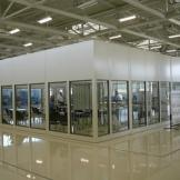 Modular Office Systems with full length windows