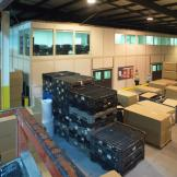 Modular Office Systems within the warehouse