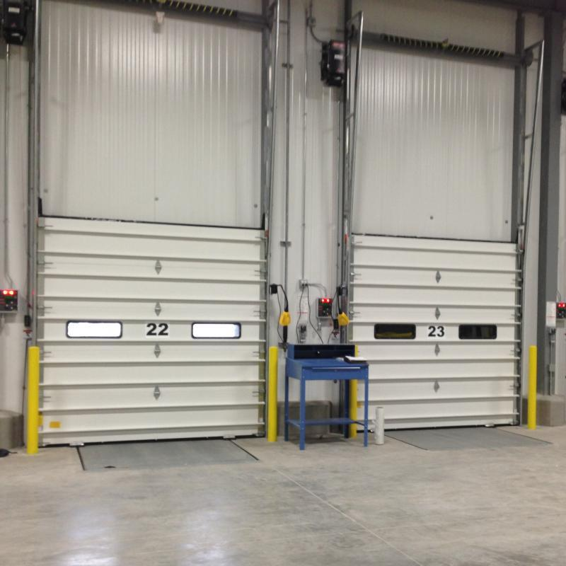 Series of two Insulated Sectional Overhead Door