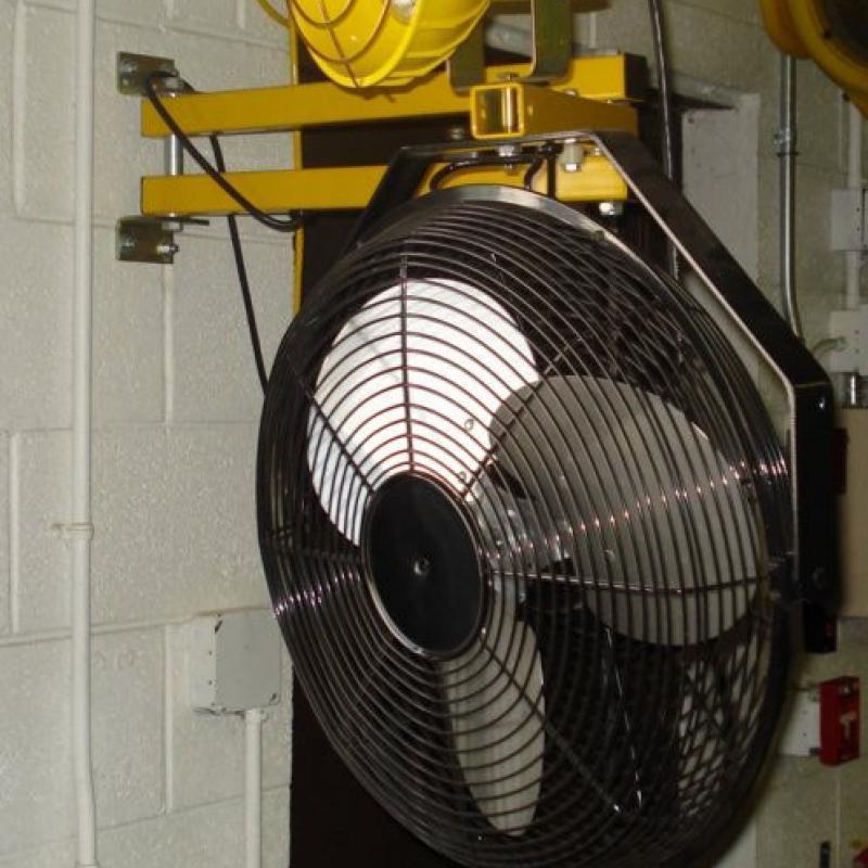 Three blade Circular Dock Fan