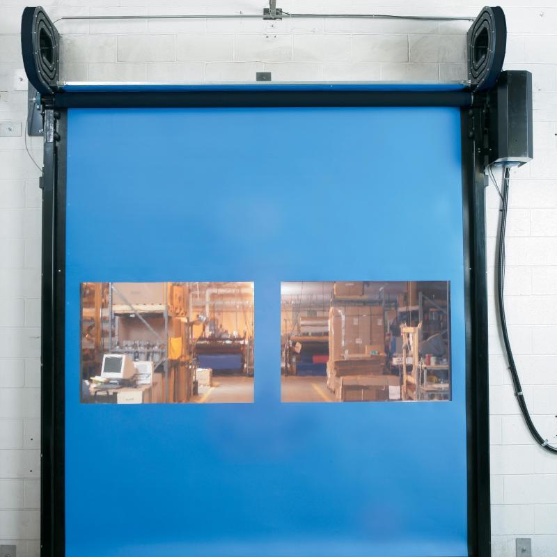 FasTrax Industrial Door with vision panel