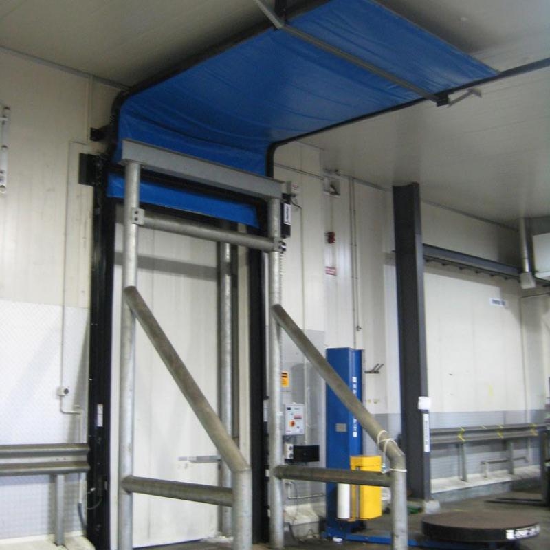 FasTrax Industrial Door opened