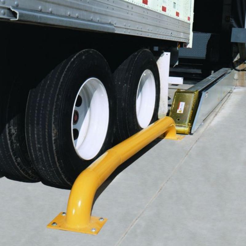 Trailer wheels secured by Global Wheel-Lok