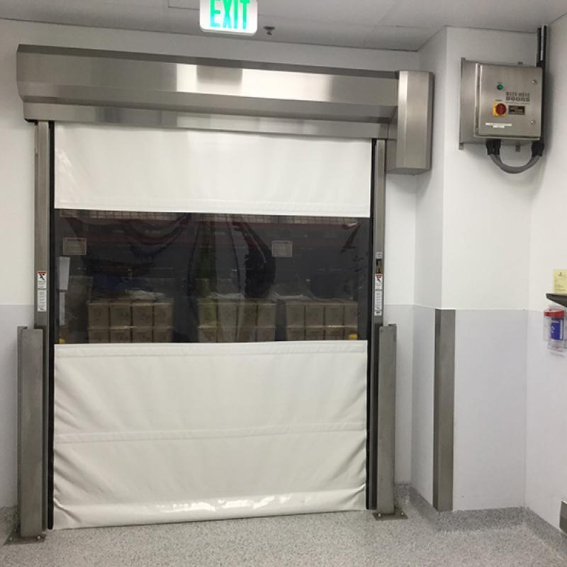 LiteSpeed Clean door with transparent vision panel