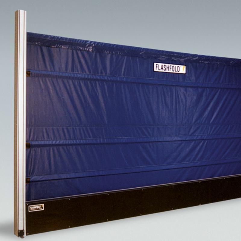 FlashFold Automated Barrier Door & FlashFold Automated Barrier Door | W.E. Carlson Corporation