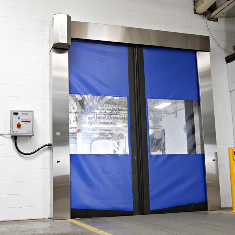 SplitSecond Clean door in closed position