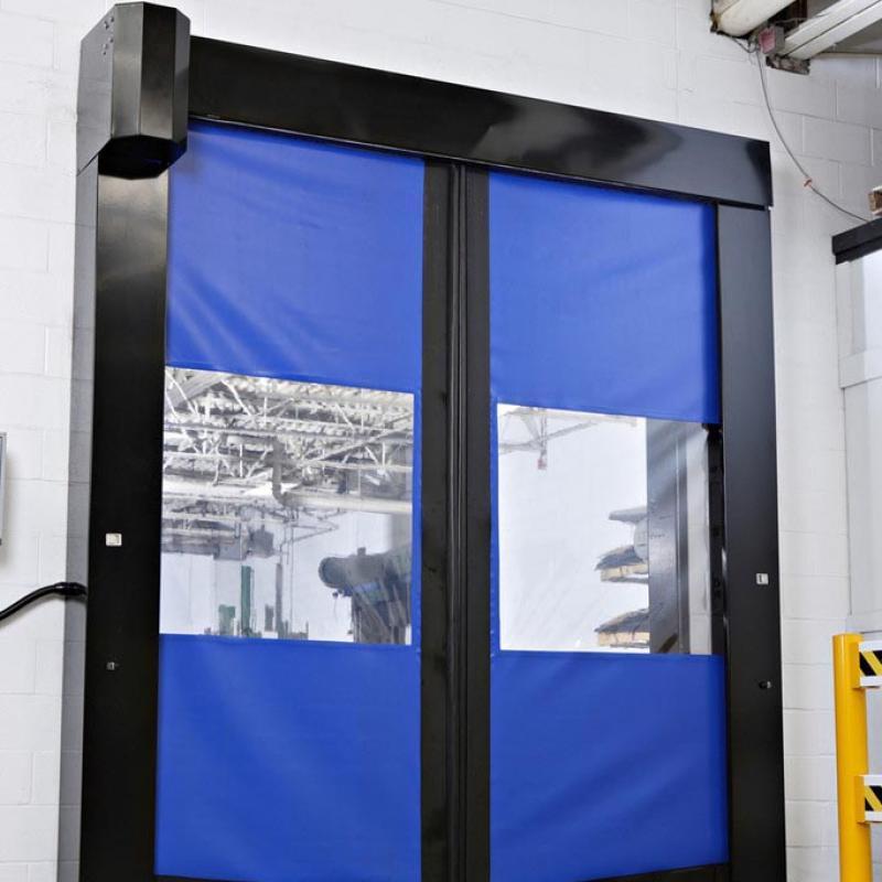 SplitSecond High Speed Door in closed position