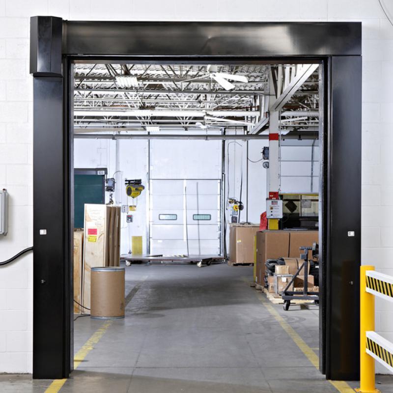 SplitSecond High Speed Door open