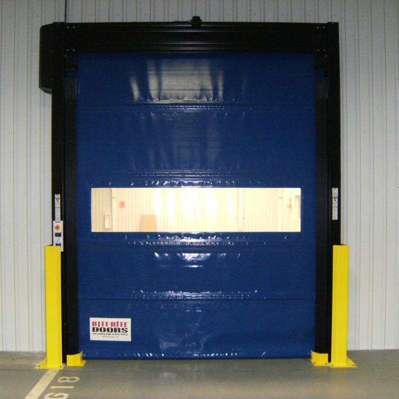 Trakline Roll Door in closed position