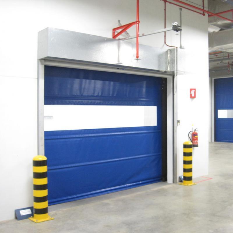 Trakline Roll Door in building interior