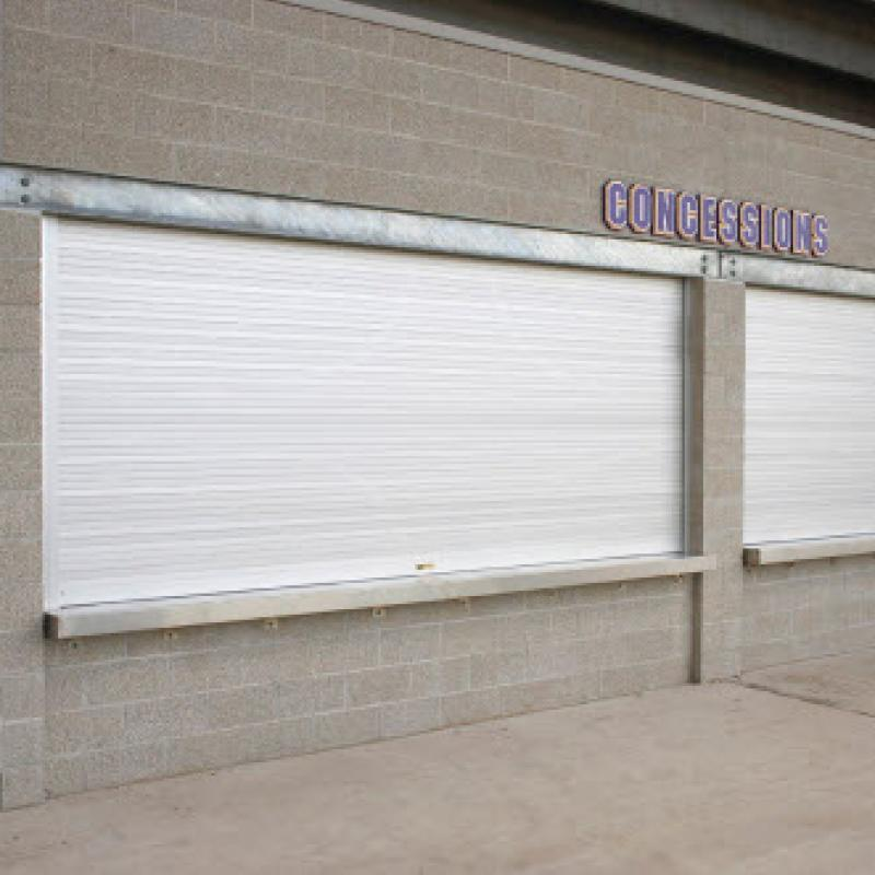 Rolling Counter Shutter Doors at concession stand