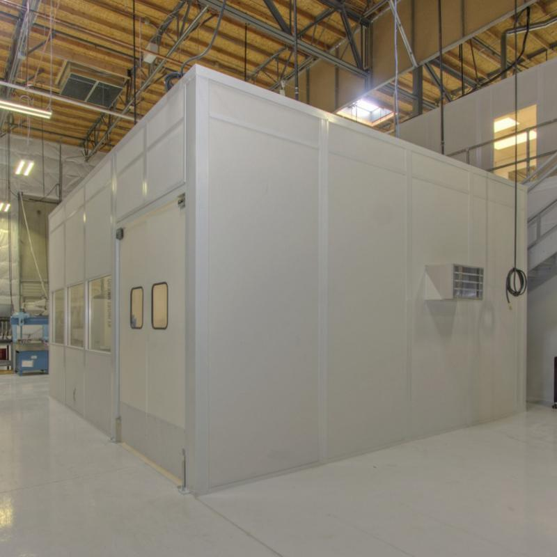 One level of Modular Wall Partitions