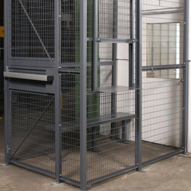 Truck Driver access cage