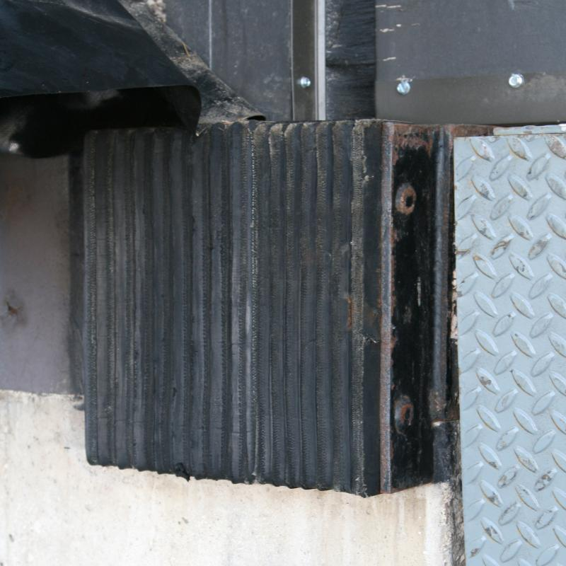 A Steel Faced & Laminated Dock Bumper