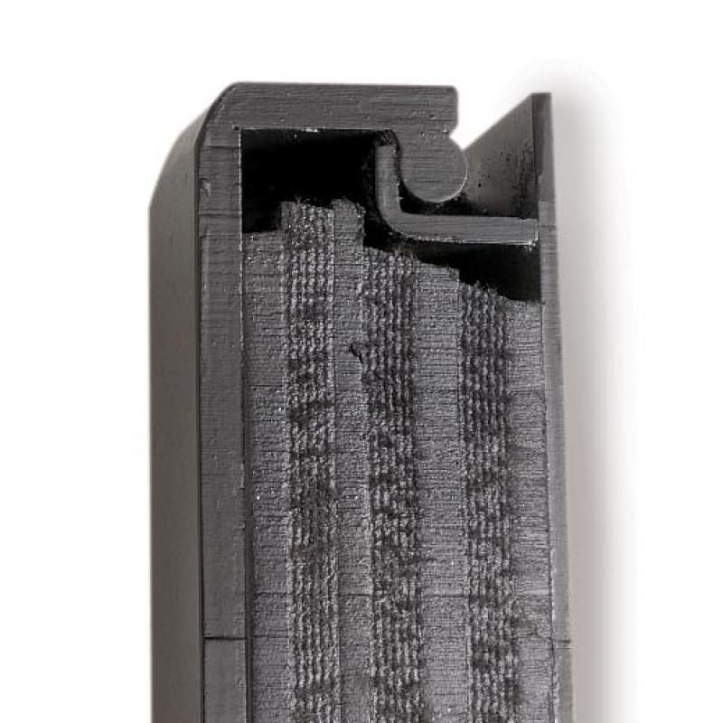 Cutaway showing padding within the Dok Saver Dock Bumper