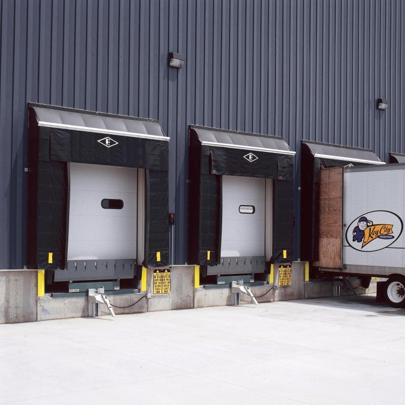 Two docks with Eliminator Gapmaster Shelters installed