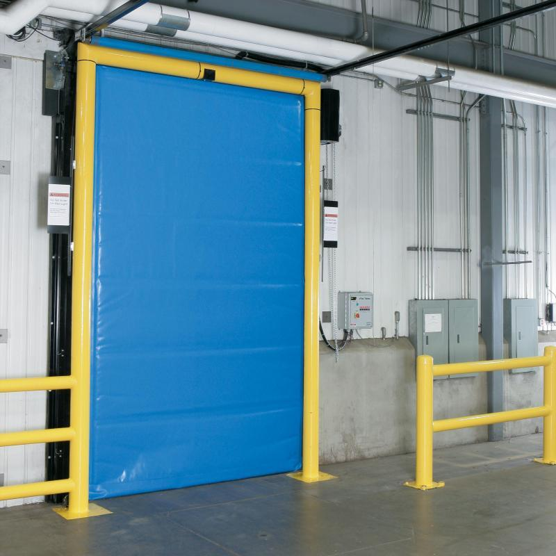 FasTrax FR Barrier Cold-Storage Door & FasTrax FR Barrier Cold-Storage Door | W.E. Carlson Corporation pezcame.com
