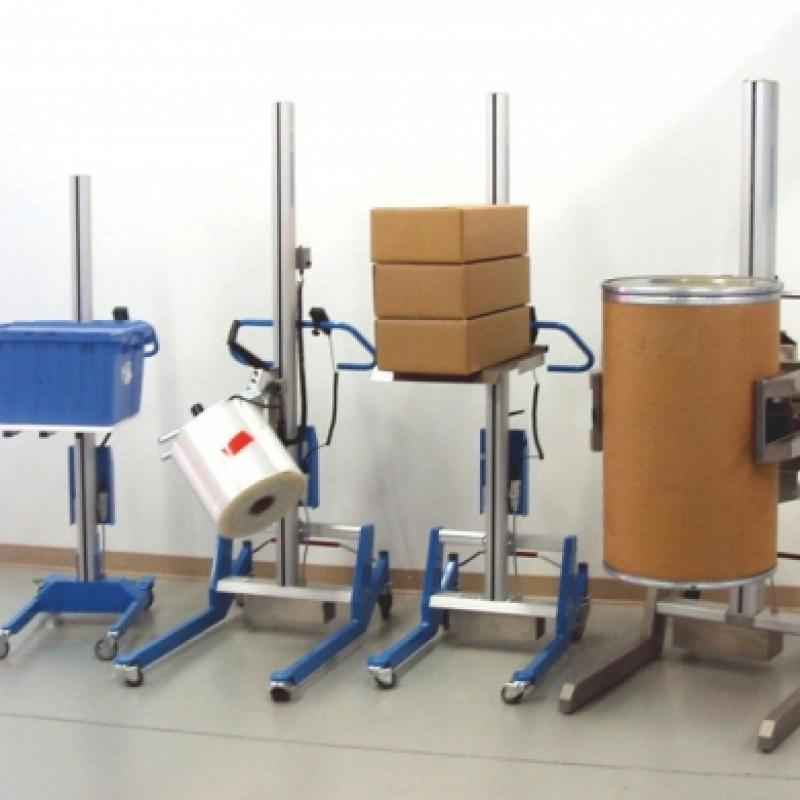 Portable Lifters for specialized material handling
