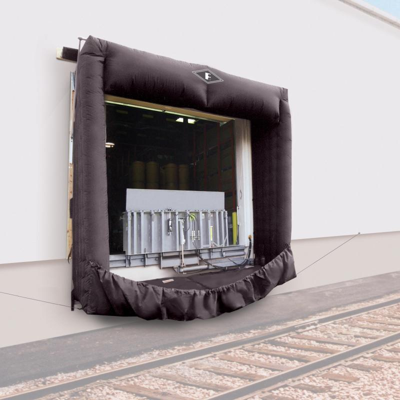 Inflated Rail-Dox Rail Shelter