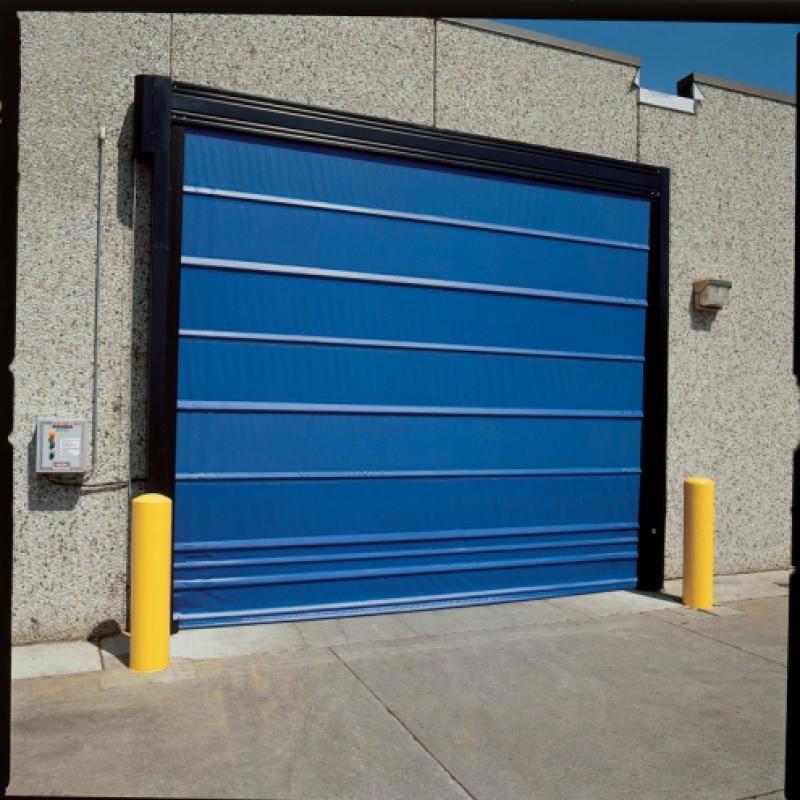 Exterior of Trakline Fold Door