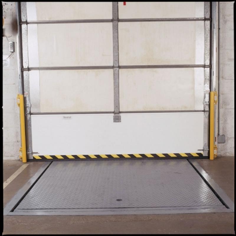 Replacement impactable door panel at bottom of door