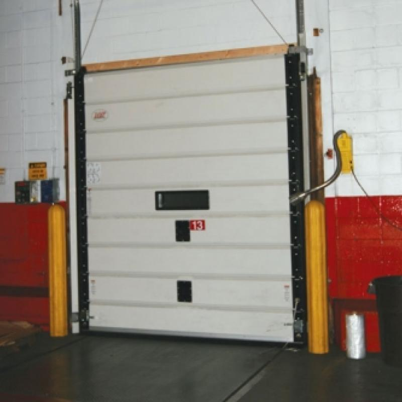 Multi-paneled MxV Impactable Sectional Door
