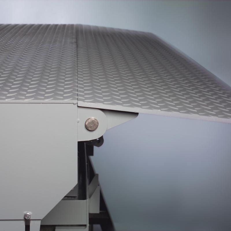 Side view of RHH Hydraulic Dock Leveler