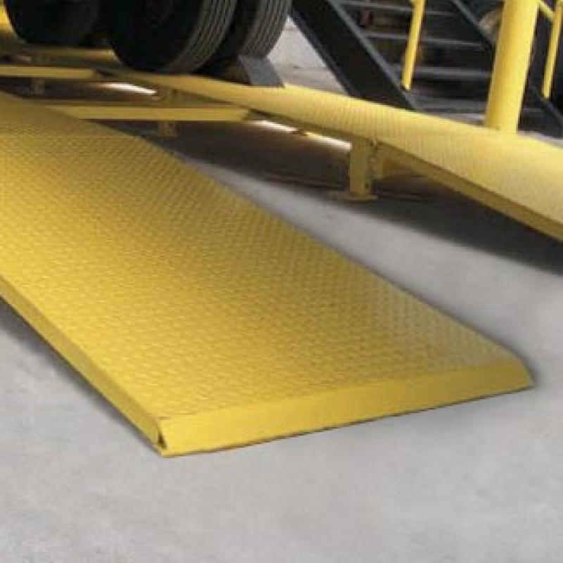Yellow steel Wheel Risers